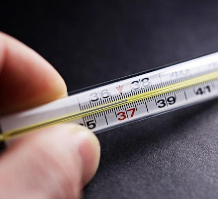 Повышенная температура 35-37,5 - один из симптомов эхинококкоза печени