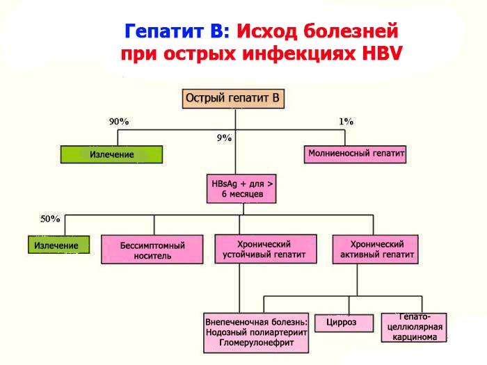 Гепатит Б смертность