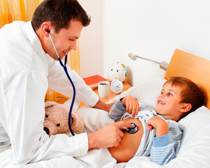 Лечение деток от лямблиоза