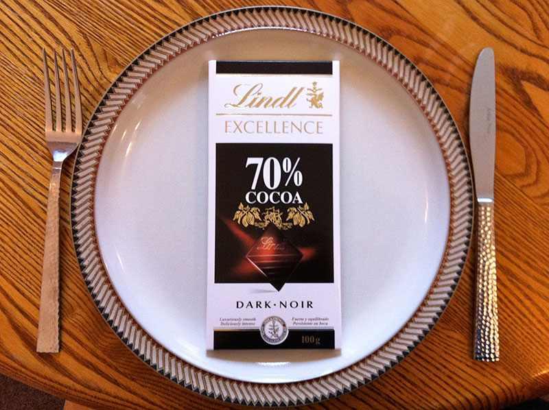 Для шоколадной диеты подойдет лишь хороший горький шоколад