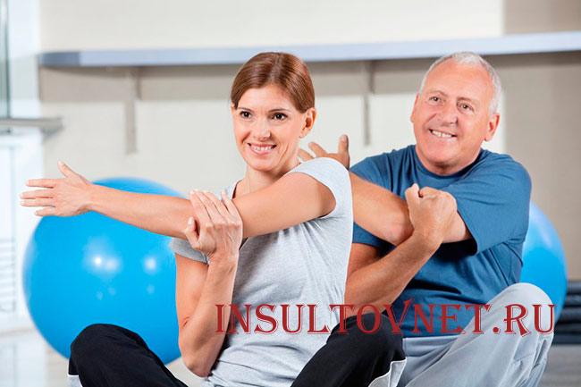 Физическая активность после инсульта