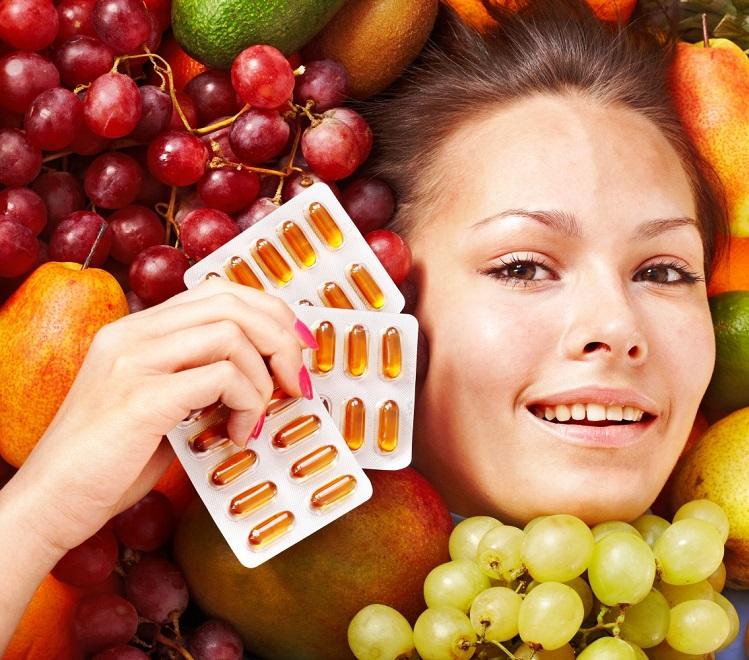 Укрепление иммунитета - прием витаминов