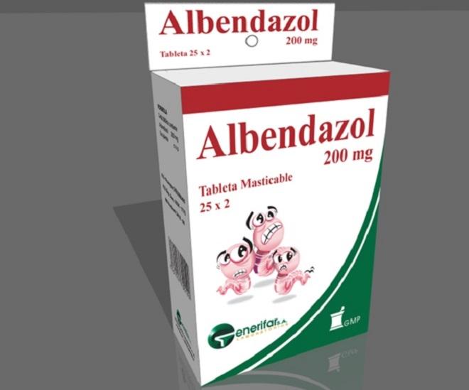 Альбендазол - препарат от паразитов для детей