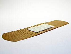 Лейкопластырь бактерицидный для ссадин коричневый