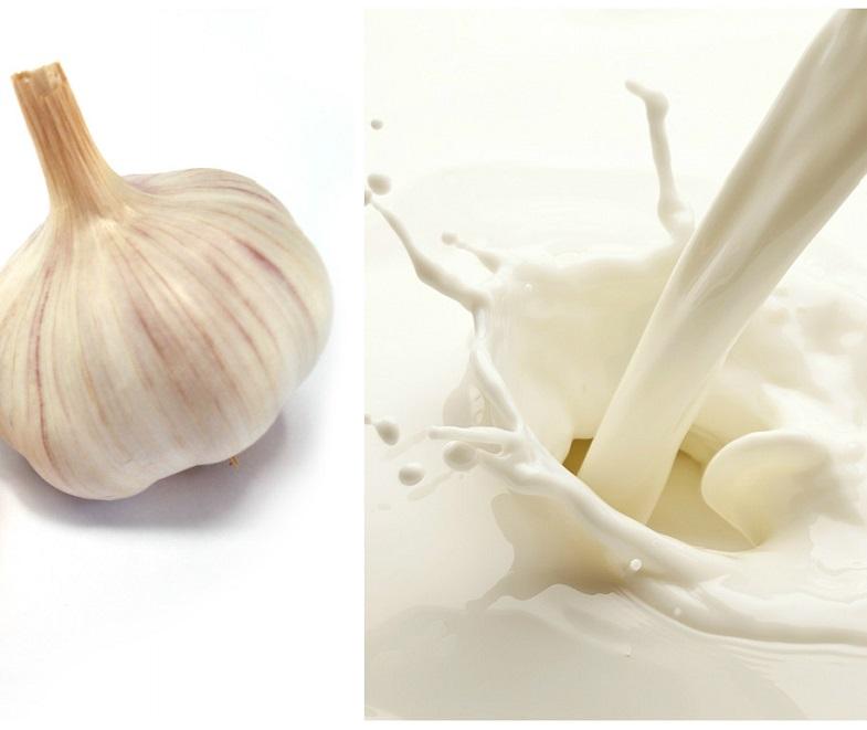 Молоко и чеснок - рецепт клизмы при поносе