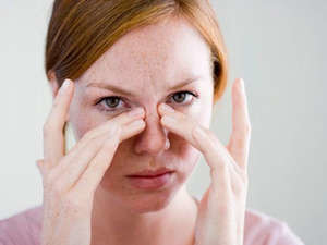 Частота и сила болей в области носа