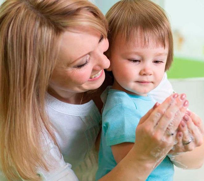 Мыть руки ребенку - профилактика энтеробиоза