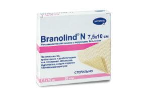 Тканевая повязка Бранолинд для ран
