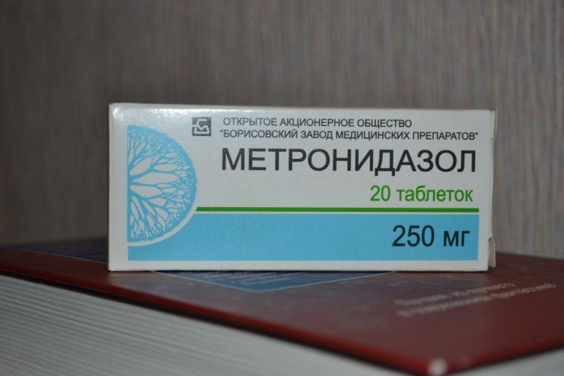 Особенности метронидазола