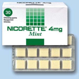 Жевательная резинка Никоретте от курения