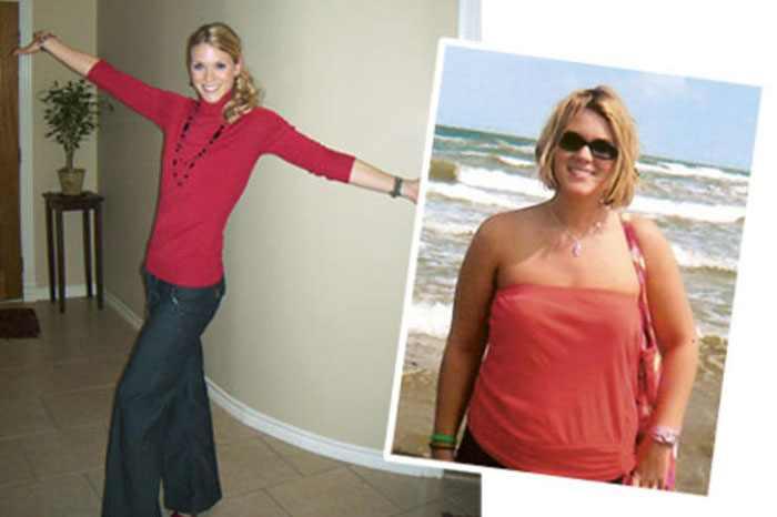 До и после похудения на диете 5 ложек