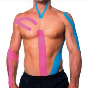 Пластырь Кинезио Тейп лечебный для спортсменов