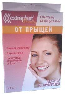 Пластырь от прыщей Extraplast медицинский