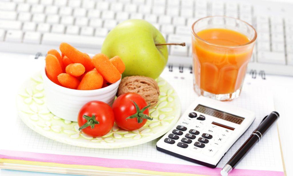 календарь калорий для похудения