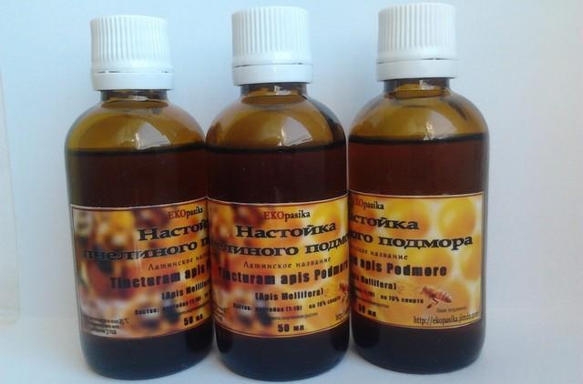 Настойка подмора пчел на водке: приготовление и применение