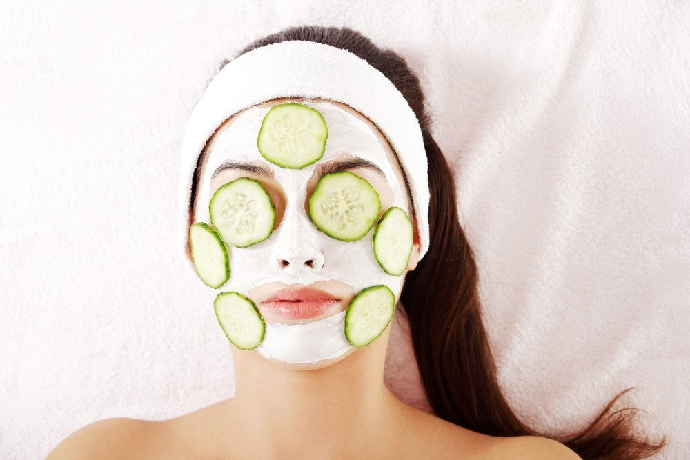 Огуречная маска для лица в домашних условиях